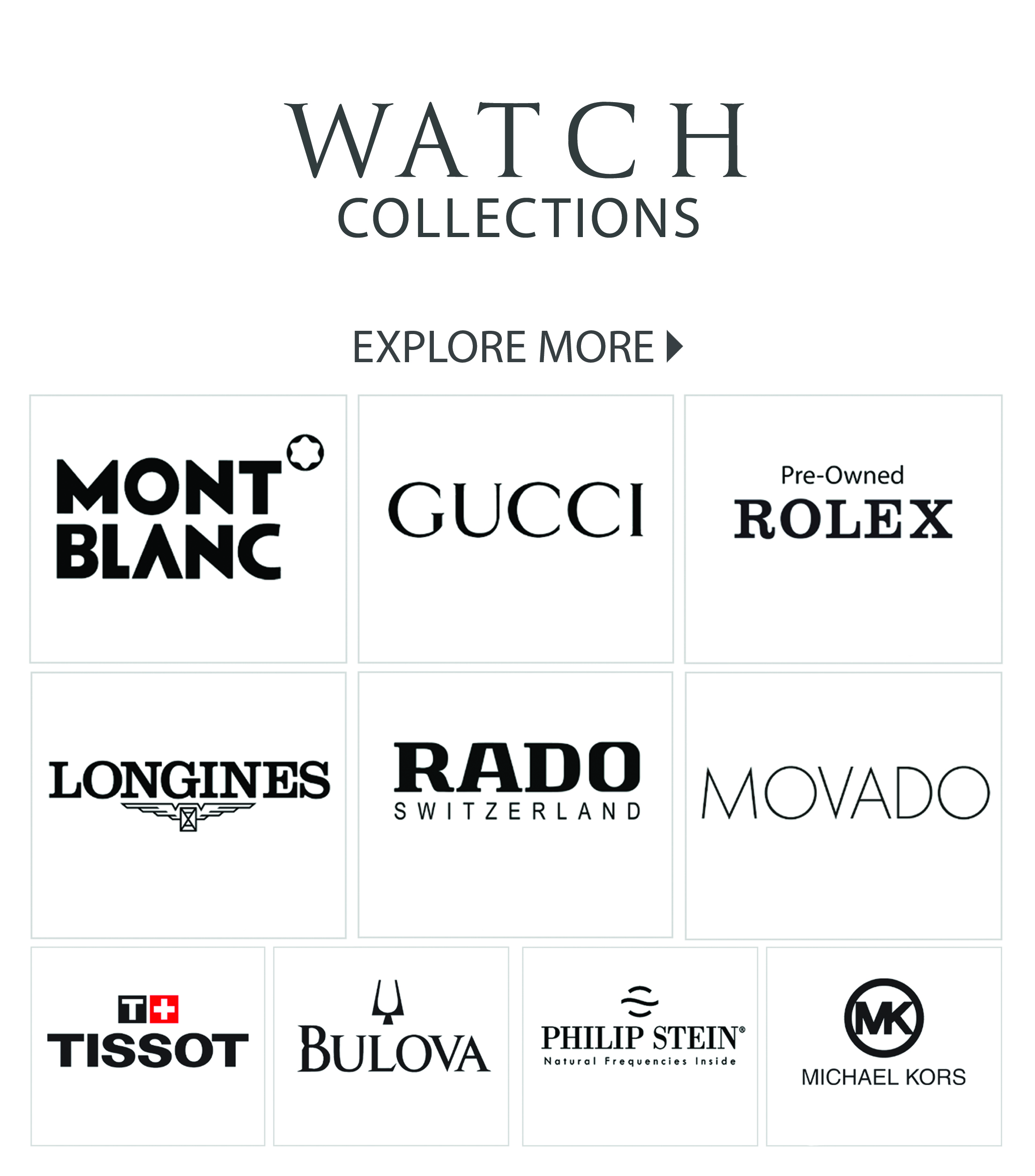 WATCH COLLECTIONS