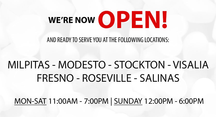 We're Now Open (COVID-19)