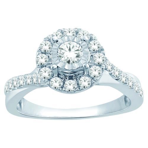 Everlasting Love® 1/2 CT. T.W. Diamond Ring In 14K Gold