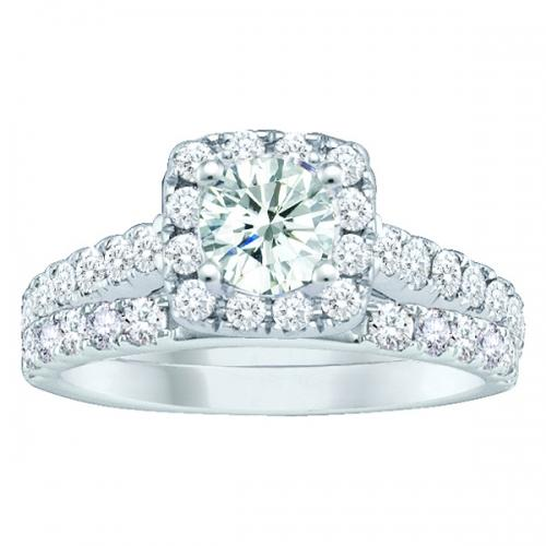 Everlasting Love® 1 1/2 CT. T.W. Diamond Bridal Set In 10K Gold