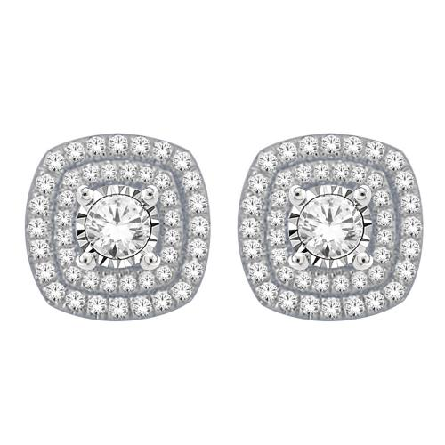 Everlasting Love® 1.00 CT. T.W Diamond Earrings In 14K Gold