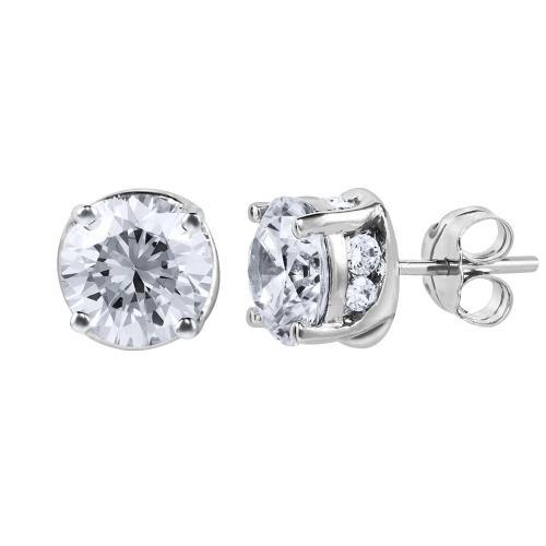 Everlasting Love® 1.82 CT. T.W. Diamond Stud Earrings In 14K Gold