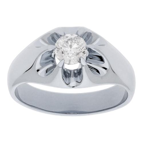 3/4 CT. T.W. Diamond Gent's Ring In 14K Gold