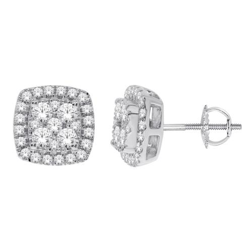 Everlasting Love® 1.00 CT. T.W Diamond Stud Earrings In 14K Gold