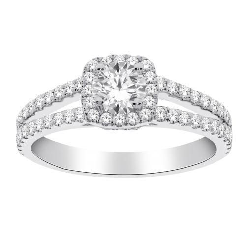 Diani® 1.00 CT.T.W. Diamond Bridal Ring in 14K Gold