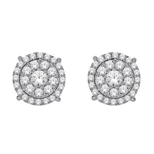 Everlasting Love® 1/2 CT. T.W. Diamond Stud Earrings In 10K Gold