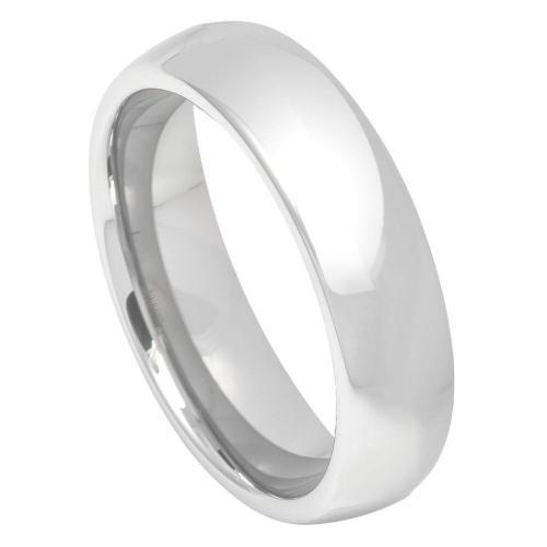 Cobalt High Polish Classic Domed Band - 5MM Band
