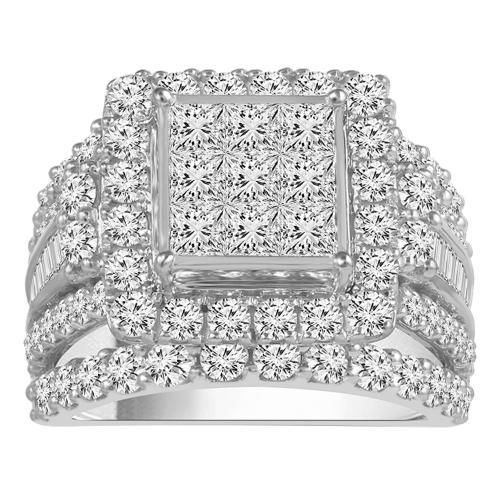 Everlasting Love® 4.00 CT. T.W. Diamond Bridal Ring In 14K Gold
