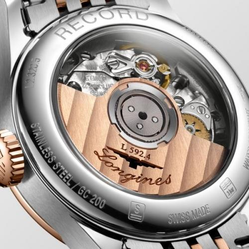 Record 26mm Stainless Steel/Gold Cap 200 Automatic