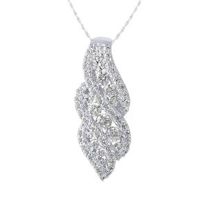 1.00 CT.T.W. Diamond Pendant in 14K Gold
