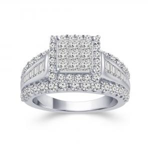 Ultimate Value® 2.00 CT. T.W Diamond Lady's Ring In 10K Gold