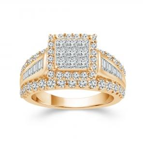 Ultimate Value® 2.00 CT.T.W Diamond Lady's Ring in 10K Gold