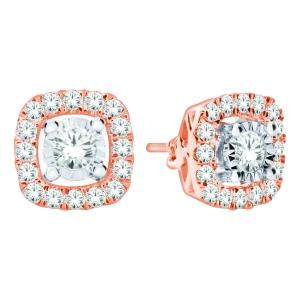 Ultimate Value® 1.00 CT.T.W. Diamond Earrings in 10K Gold