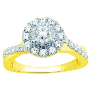 Everlasting Love® 1/2 CT.T.W. Diamond Lady's Ring in 14K Gold