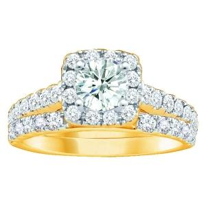 Everlasting Love® 1 1/2 CT.T.W. Diamond Bridal Set in 10K Gold