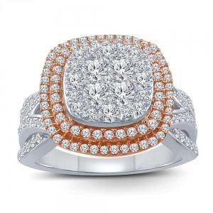Ultimate Value® 1.00 CT.T.W. Diamond Vintage Halo Ring in 10K Gold