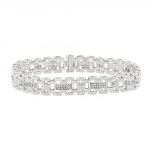 Men's 3/4 CT.T.W. Diamond Bracelet in 10K Gold