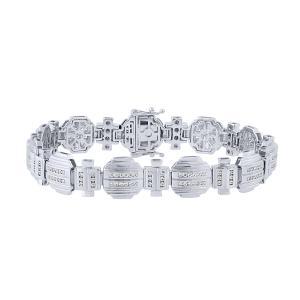 Men's 1 1/2 CT.TW. Diamond Bracelet in 10K Gold