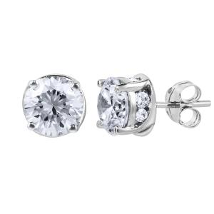 Everlasting Love® 1.82 CT. T.W. Diamond Stud Earrings In 14K Gold