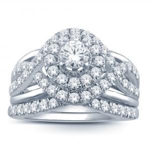 Everlasting Love® 1.00 CT.T.W. Diamond Bridal Set in 14K Gold