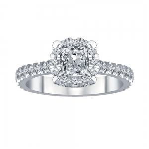 Novello-Collection 1.00 CT. Center and 1.68 CT. T.W. Diamond Bridal Ring In 14K Gold