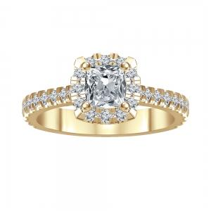 Novello 1.00 CT.T.W. Diamond Bridal Ring in 14K Gold