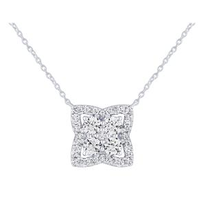 Ovani® 1/2 CT.T.W. Diamond Pendant in 18K Gold