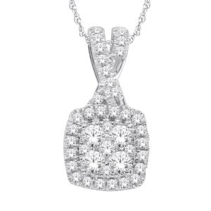Everlasting Love® 0.63 CT. T.W. Diamond Pendant In 14K Gold