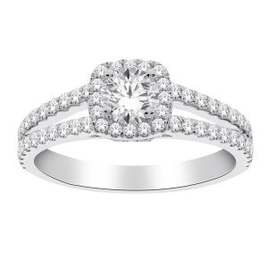 Diani® 1.00 CT.T.W. Diamond Bridal Ring in 14K Gold