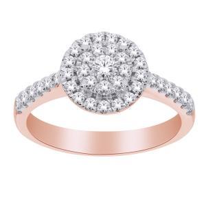 Love Spell® 1/2 CT. T.W. Diamond Ring In 10K Gold