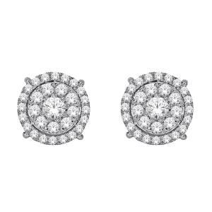 Everlasting Love® 1/2 CT.T.W. Diamond Stud Earrings in 10K Gold