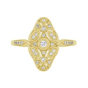 Diani® 1/5 Ct.t.w. Diamond Ring in 14K Gold