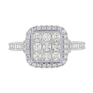 Diani® 1.00 CT.T.W. Diamond Ring in 14K Gold