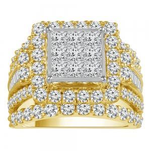 Everlasting Love® 4 CT. T.W. Diamond Bridal Ring In 14K Gold