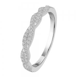 Diani® Collection 1/5 CT. T.W. Diamond Band In 14K Gold