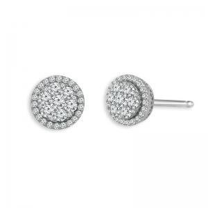 1/2 CT. T.W. Diamond Stud Earrings in 14K Gold