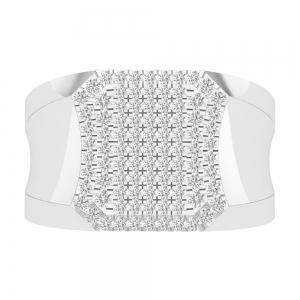 1.05CT. T.W. DIAMOND GENTS RING IN 14K GOLD  VVS2-VS2 CLARITY DIAMONDS