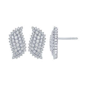 "1.5CT. T.W. ""Ovani®-COLLECTION"" ILLUSION EARRINGS IN 14K GOLD"