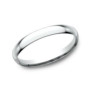 Standard Comfort-Fit Wedding Ring in 14K White Gold (2 mm)