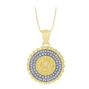 Ovani®-22 0.25 CT. T.W. Diamond Pendant In 22K Gold