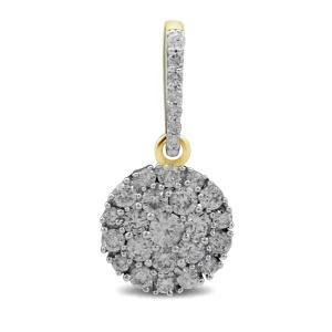 Ultimate Value® .50 CT.T.W. Diamond Pendant in 10K Gold