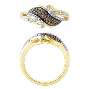 0.33CT. T.W. DIAMOND LADIES RING IN 10K GOLD