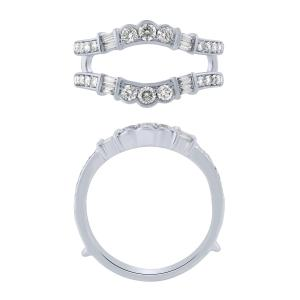 Diani® Collection 0.63 CT. T.W. Diamond Enhancer In 14K Gold