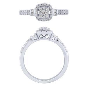 Love Spell® 0.25 CT. T.W. Diamond Ring In 14K Gold