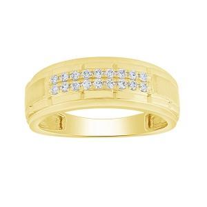 0.25CT. T.W. DIAMOND GENTS RING IN 14K GOLD
