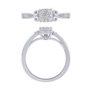 0.25 CT. T.W. Diamond Ring In 10K Gold