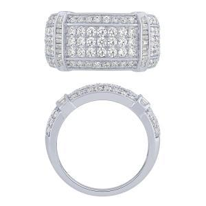 1CT. T.W. DIAMOND GENTS RING IN 14K GOLD