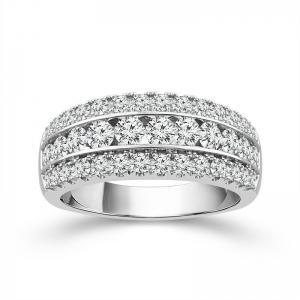 1.5CT. T.W. 'Diani®-COLLECTION''   BAND IN 14K GOLD