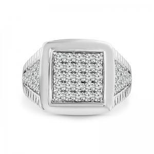 1CT. T.W. DIAMOND GENTS RING IN 10K GOLD