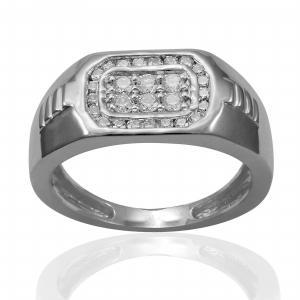 0.5CT. T.W. DIAMOND GENTS RING IN 10K GOLD
